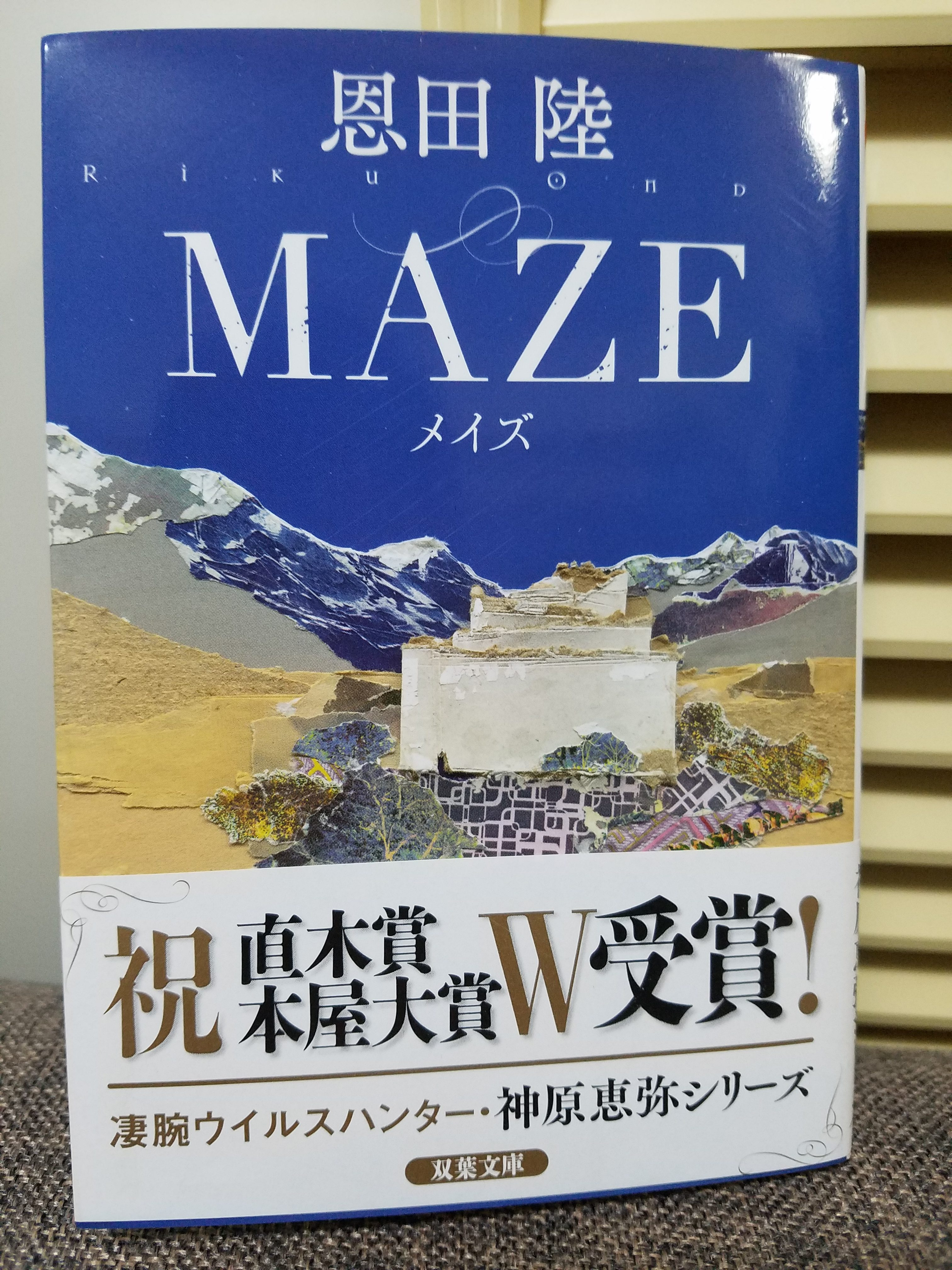恩田陸『MAZE(メイズ)』感想※ネタバレ注意(素人小説書評)