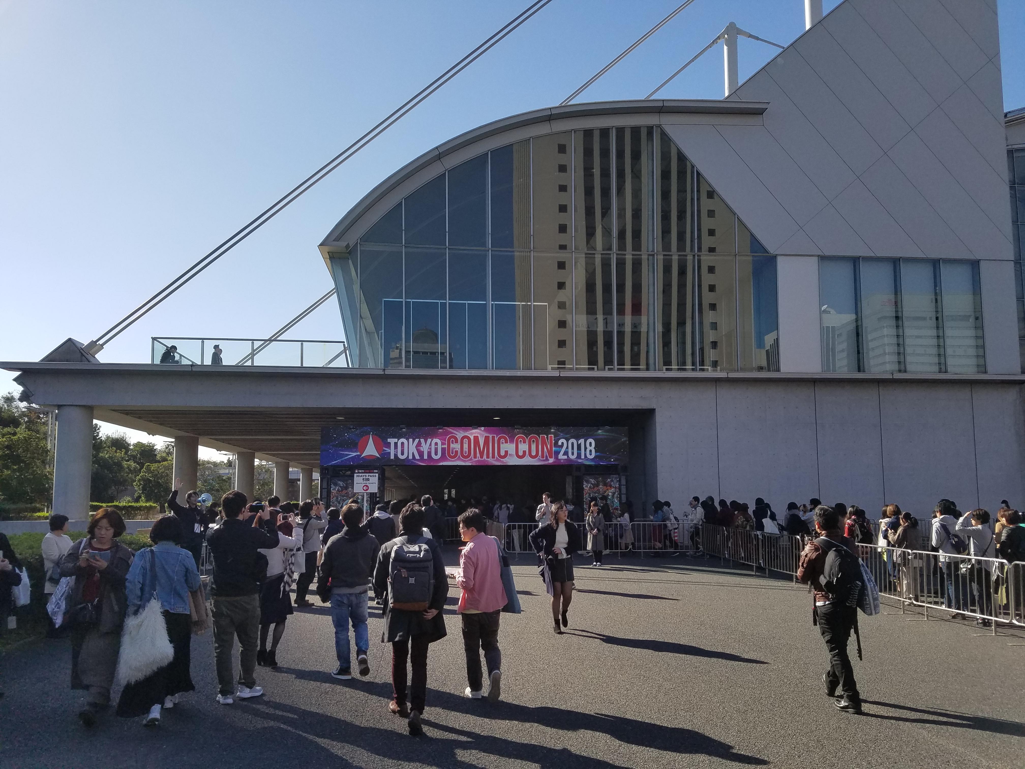 東京コミコン2018に参加!感想&反省点・気になった点を述べておきます!